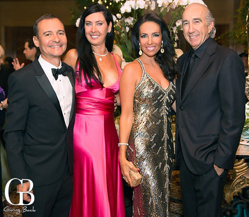 Jacqueline Foster and Hedi Madani with Nadine and Gary Barber