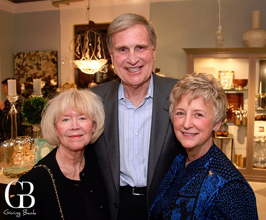 Jacqueline Powell with Scott and Betsy McClendon