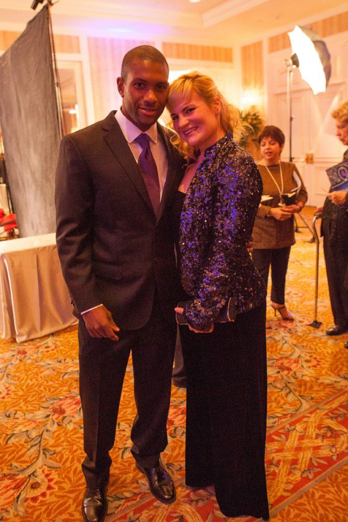 Jacques Laventure and Deborah Anderson