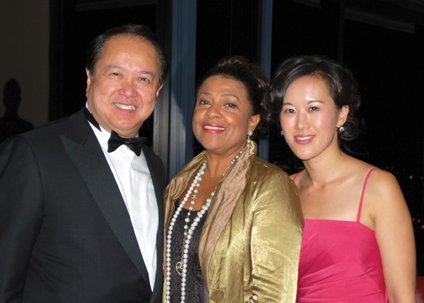 Jahja Ling, Kathleen Battle and Jessie Chang