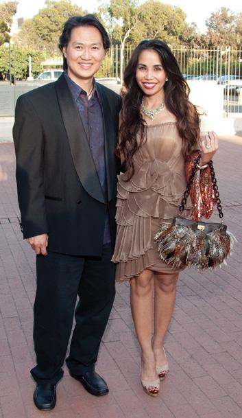 James Lee and Tess Mauricio
