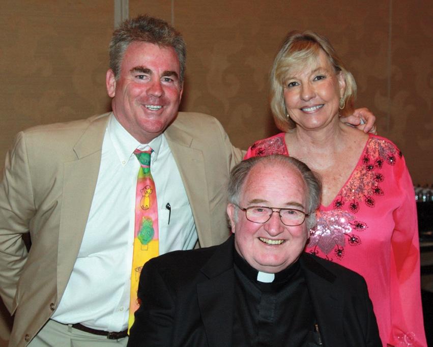 James Mulvaney, Father Joe Carroll and Linda Burnham Babcock.JPG