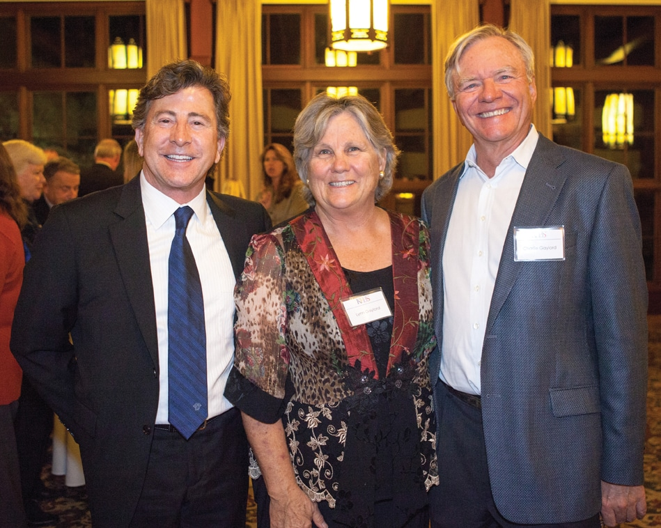 James Rowten with Lynn and Charlie Gaylord