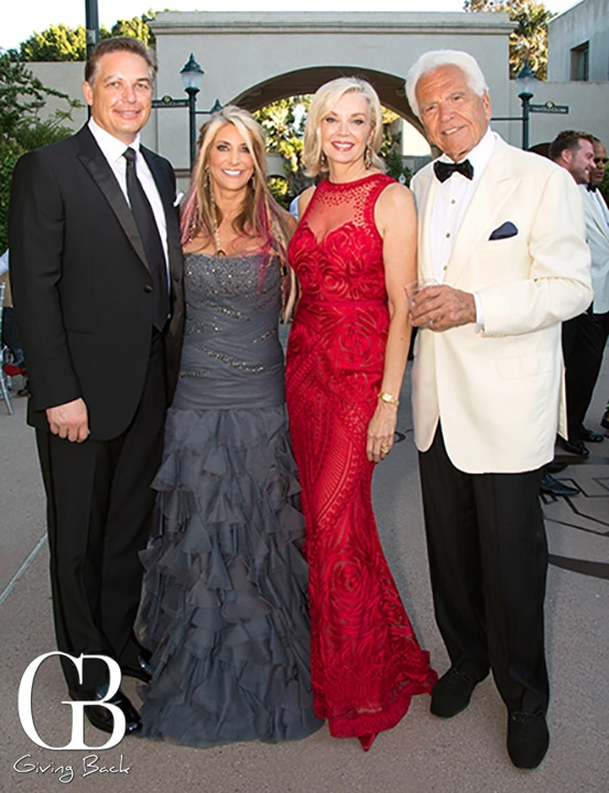 James Hammermeister and Deni Jacobs with Karen and Don Cohn
