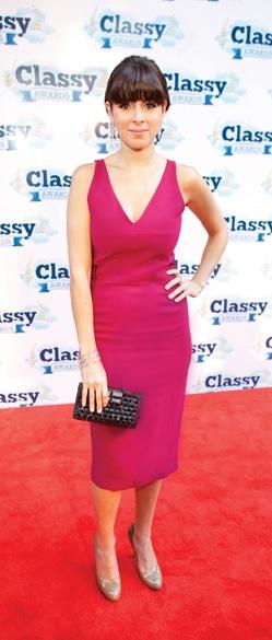 Jamie Lynn Sigler   Host of CLASSY Awards