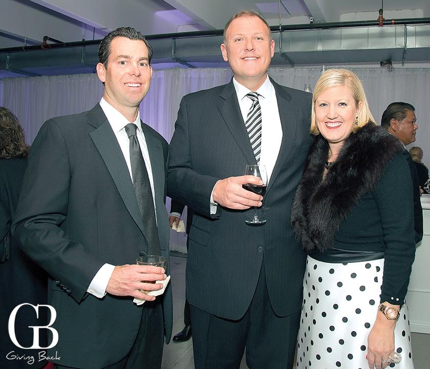 Jamie Hooper with John and Lauren Lek