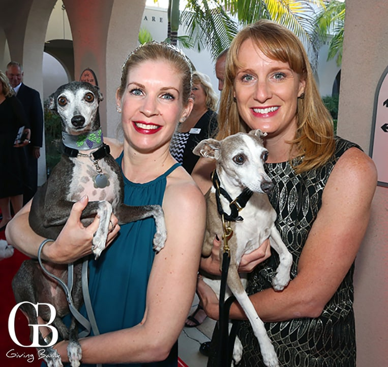 Jana Laster and Olive with Jamie Debonis and Maggie