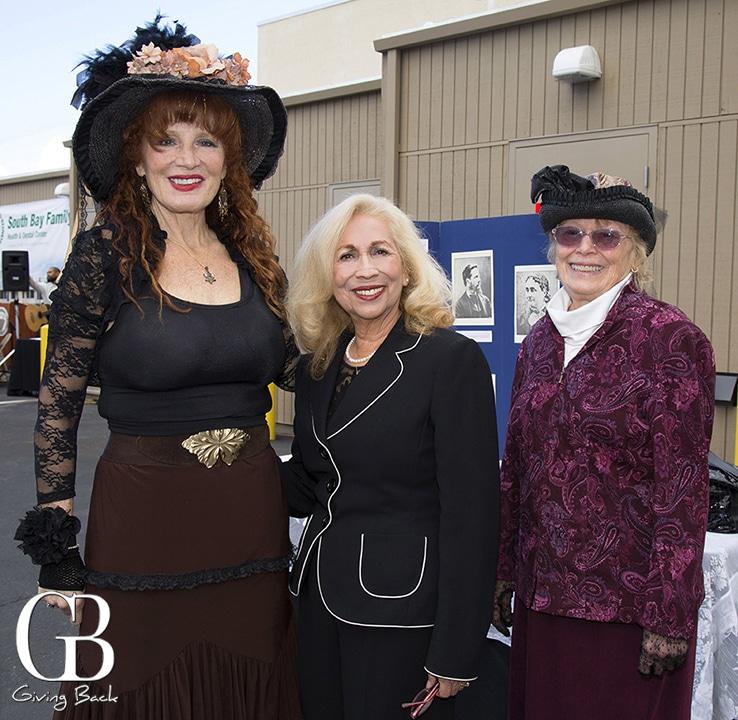 Janice Martinelli  Barbara Avalos and Roxanne Kelley