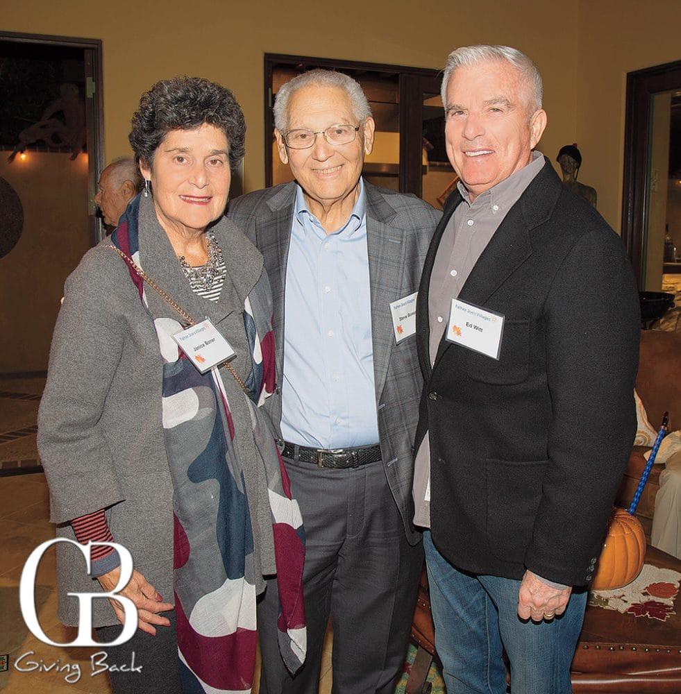 Janice and Steve Boner and Ed Witt