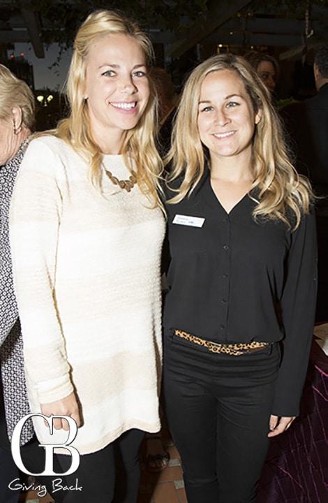 Janine Blum and Jessica Flora