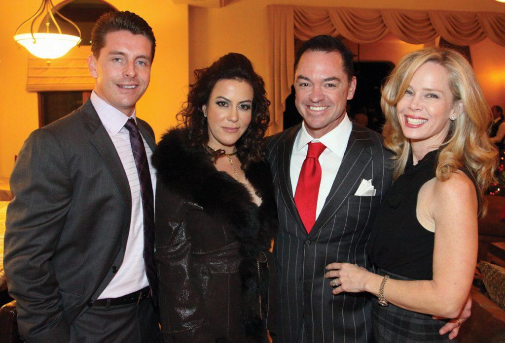 Jaron Smith, Yolanda S. Walther Meade with John and Lisa Gomez.JPG