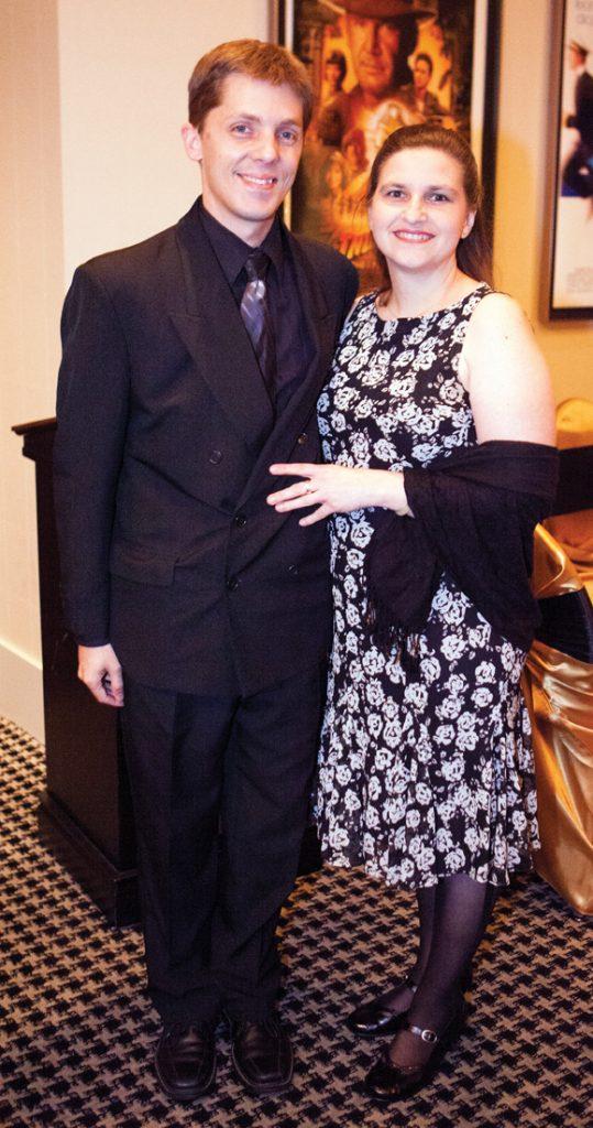 Jason Wanner and Denise Lepard