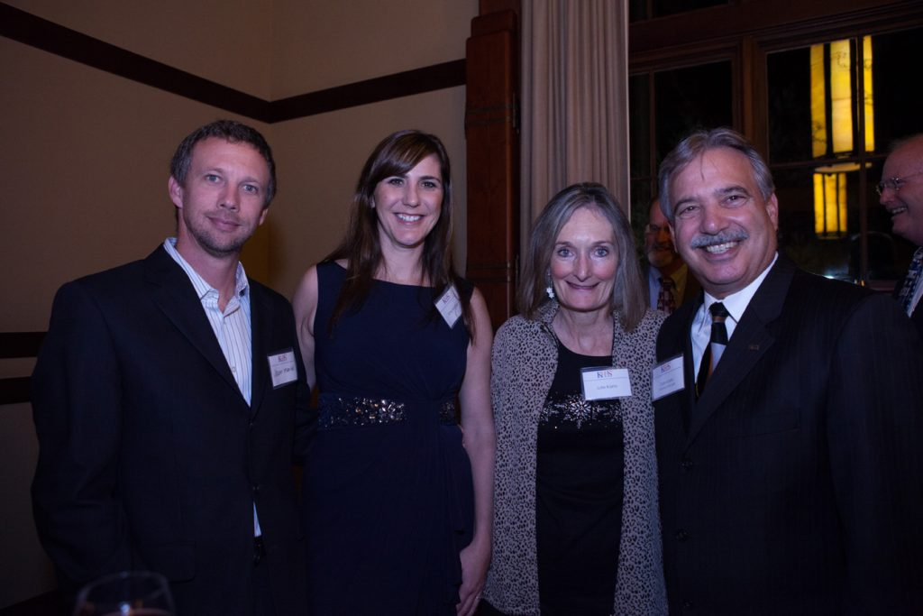 Jason and Amy Martel with Julie and Tom Karlo