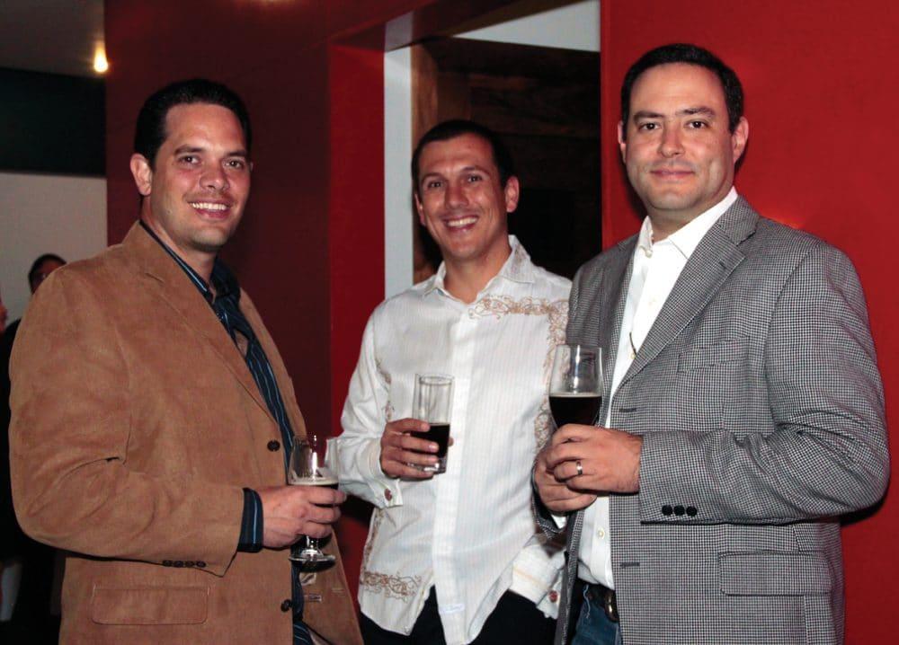 Javier Barreto, Genaro Valladolid y Hector Santillan