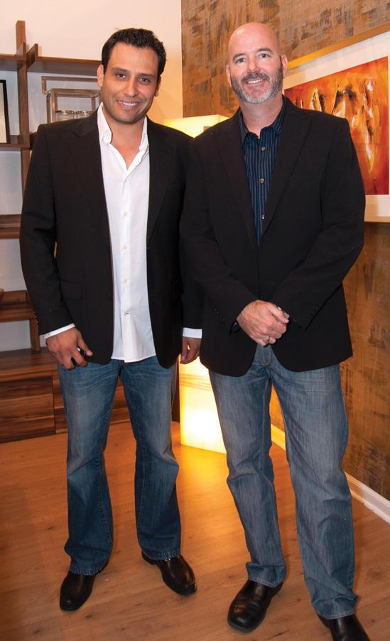 Javier Garay and Scott Newhan