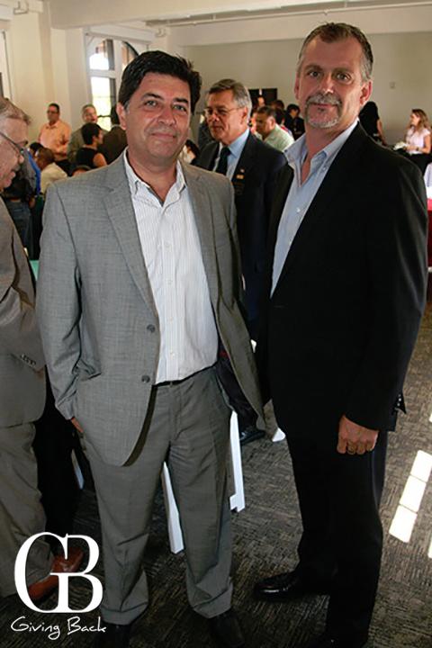 Javier Saunders and Jose Luis Romo
