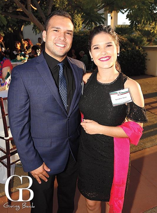 Javier and Mariandrea Alcazar