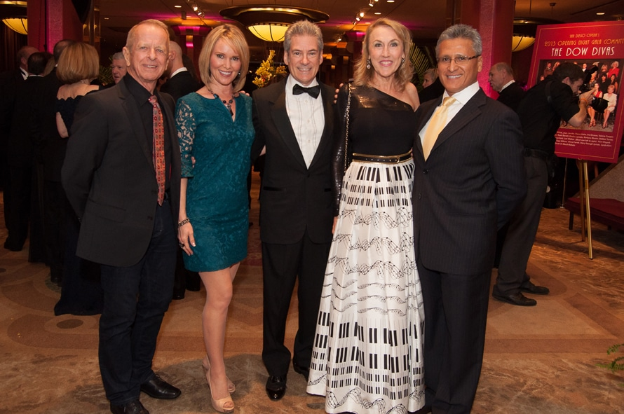 Jay Grimes, Michelle Phillips, Neal Chazin, Madeleine Cranfill and Moses Urbano
