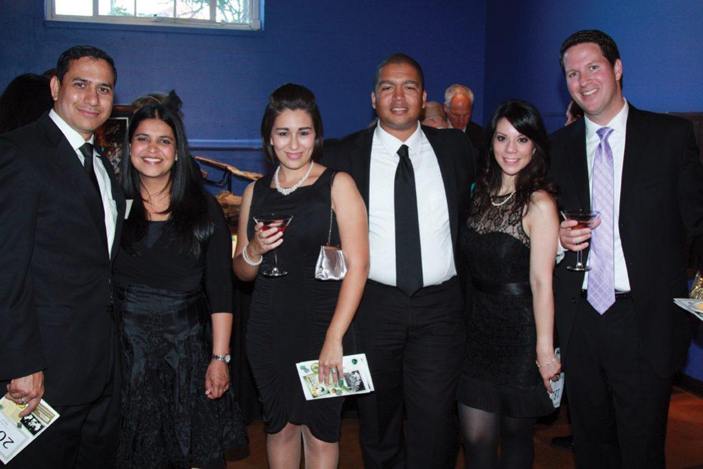 Jay and Amita Mahajan with Sophia and Adam Mayfield, Wassan Kasey and Joe DeSantis.JPG