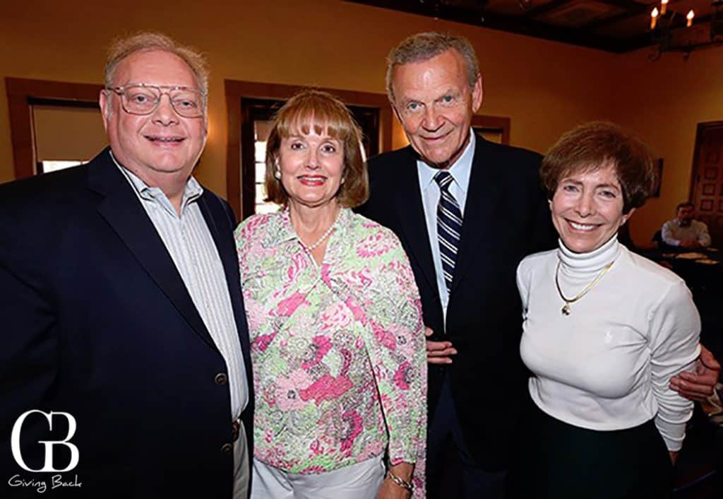 Jay and Julie Sarno with Tom and Cindy Goodman