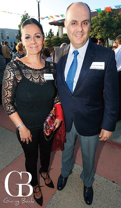 Jazmin and Jorge de Hoyos