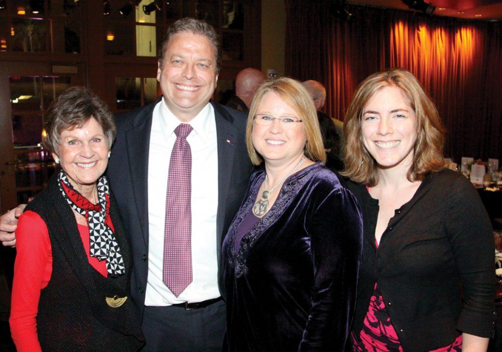 Jeanette Stevens, Steve and Gia Stuckey and Rachel Plummer.JPG