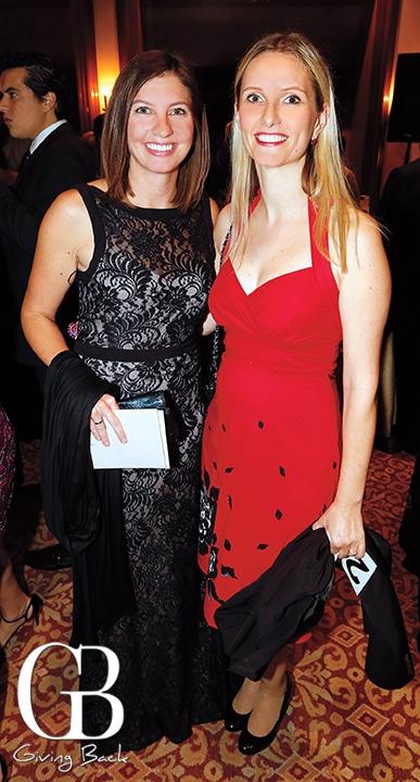 Jeanne Carroll and Sandra Leibel