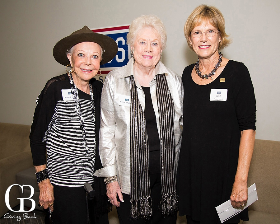 Jeanne Jones  Fern Murphy and Lynn Congemi