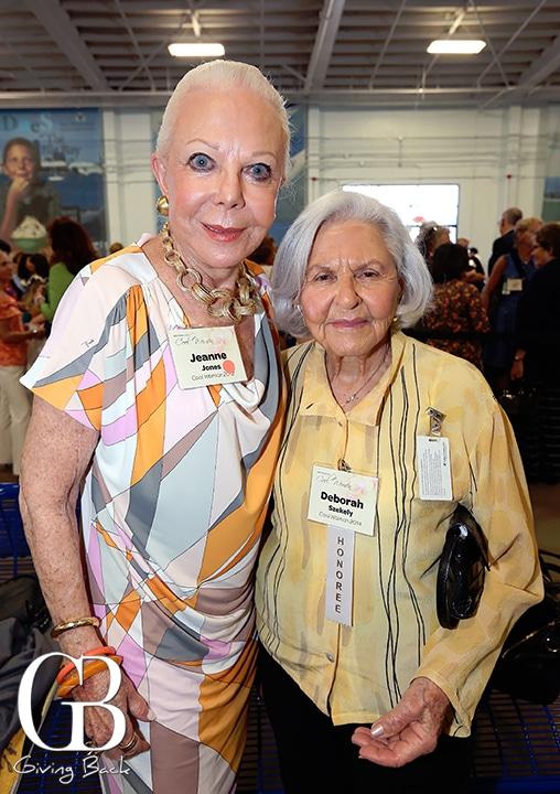 Jeanne Jones and Deborah Szekely