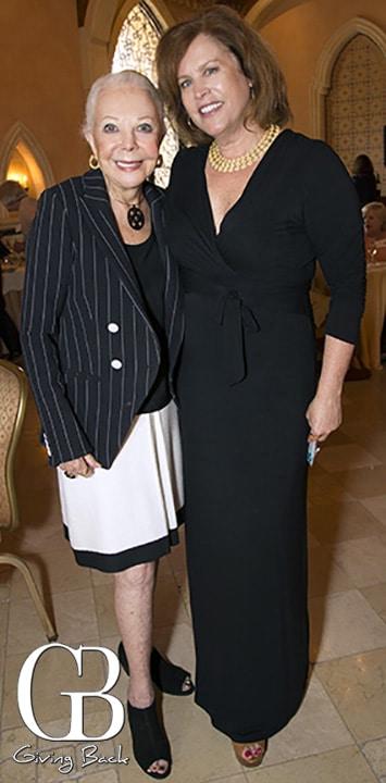 Jeanne Jones and Louise Kelly