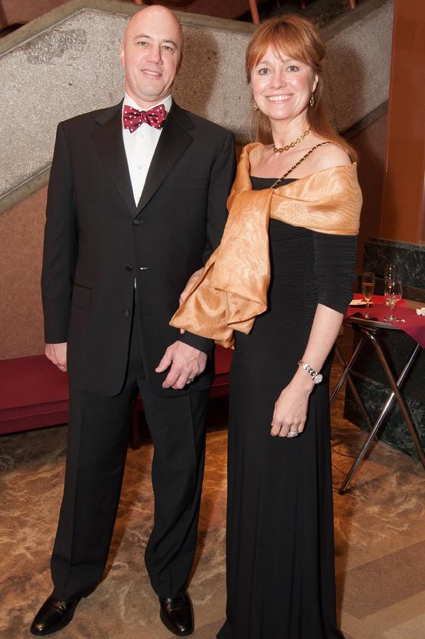 Jeff Benton and Julie Huston