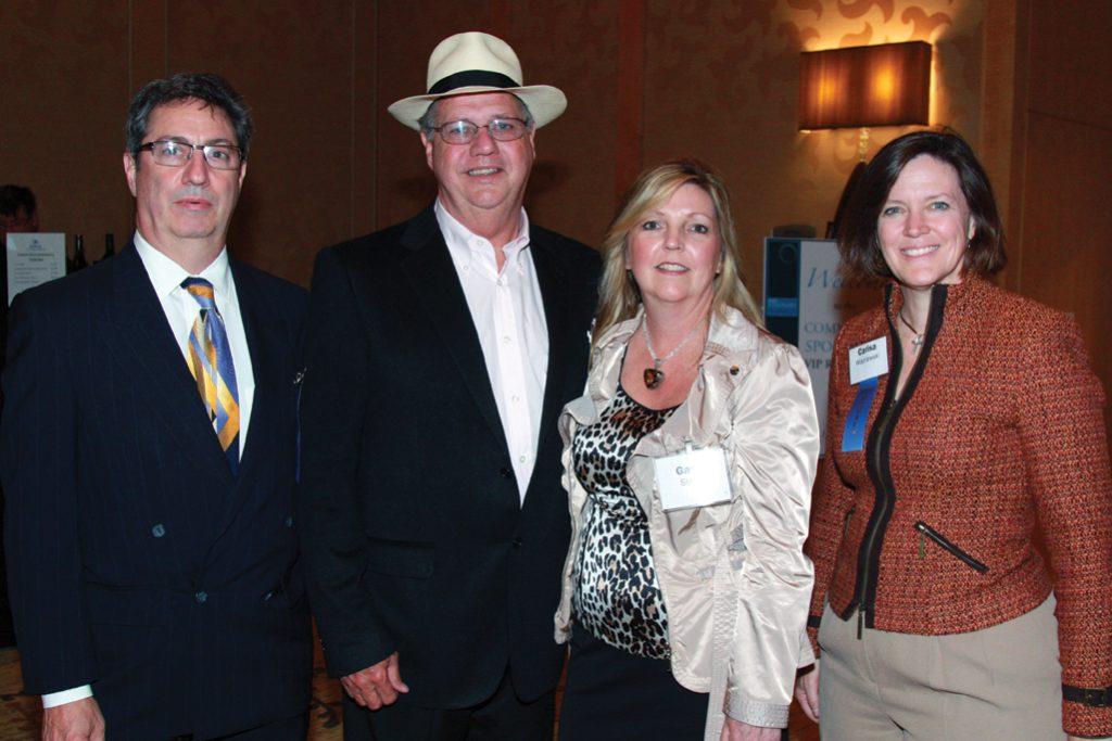 Jeff Black, Bill and Gayle Stone and Carisa Wisniewski.JPG
