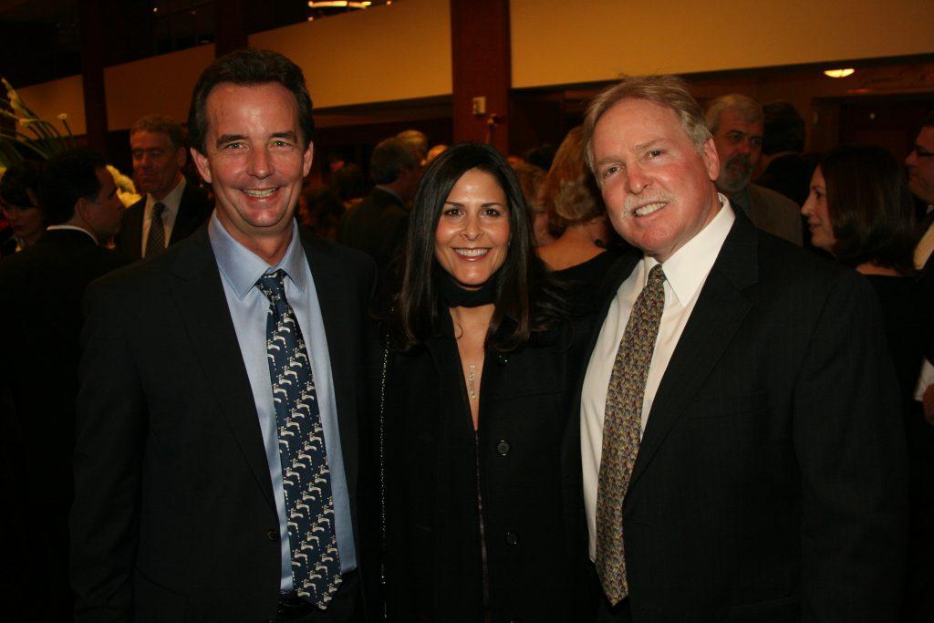 Jeff Church, Lisette Omoss and Ken Druck.JPG