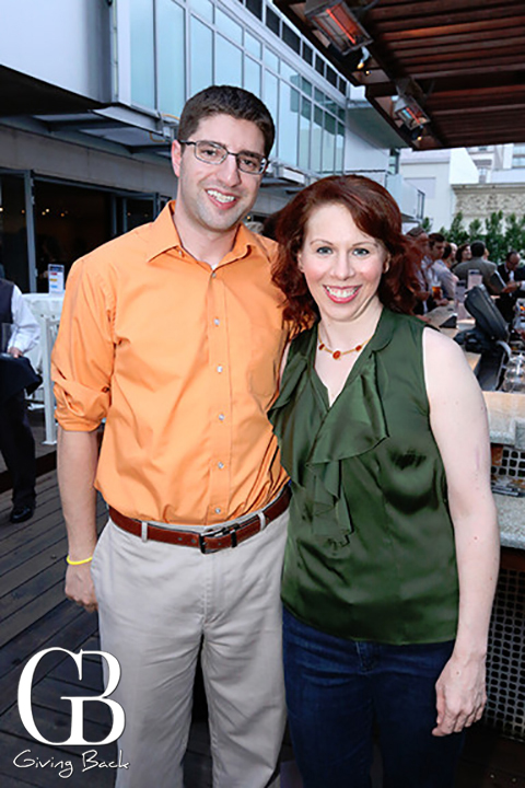 Jeff Storch and Sara Zolott