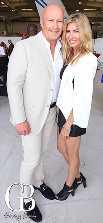 Jeff Ward and Milena Glusaz