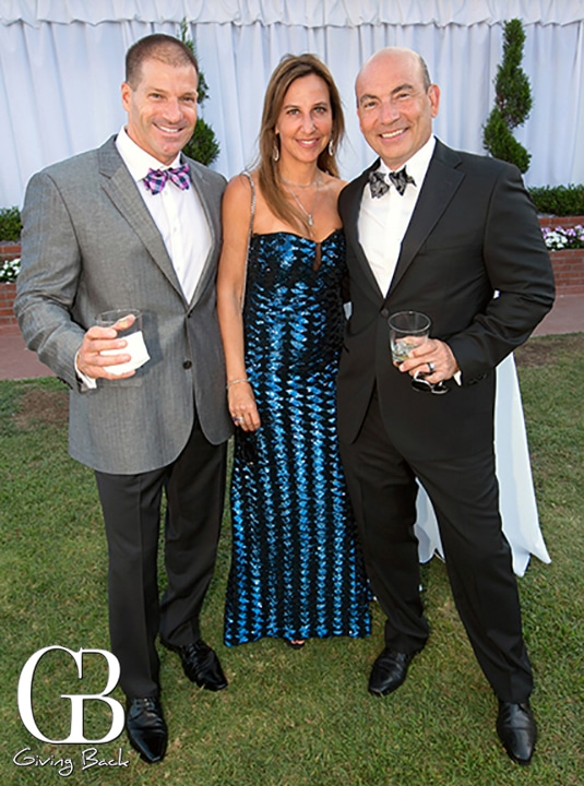 Jeffery Adler with Maite and Ron Soltero