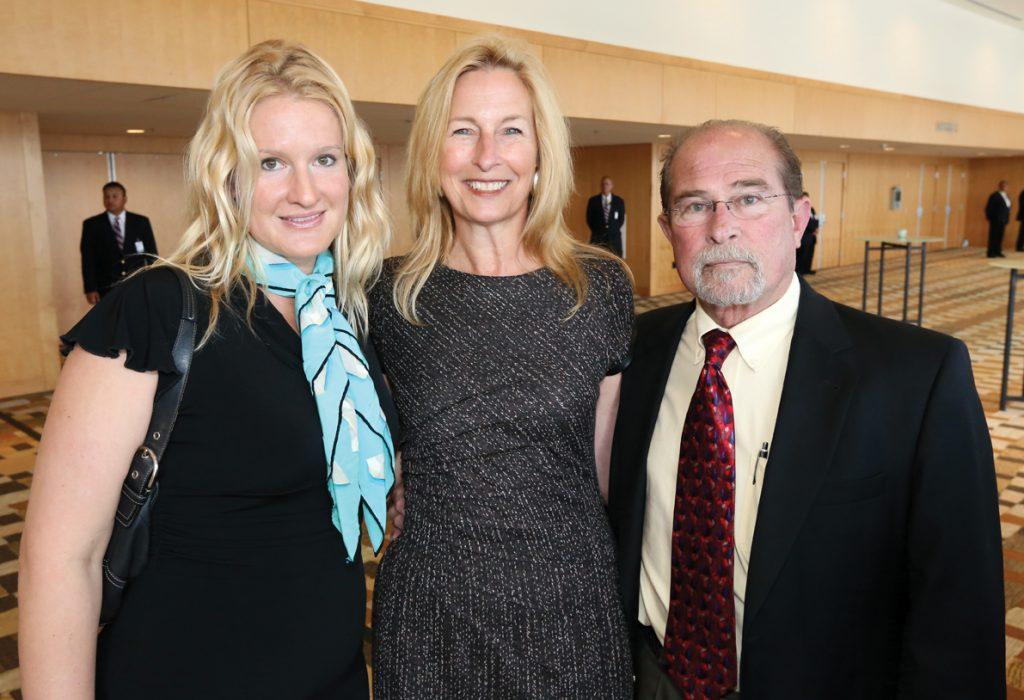 Jenelle Zingg, Ann Von Gal and Louis Neiheisel.JPG