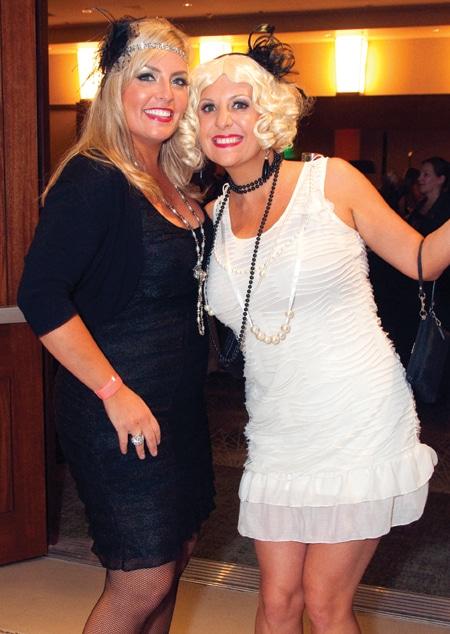 Jennifer Covelli and Angela Meehan