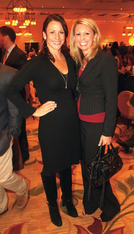 Jennifer Reinhard and  Racquel Kolsrud.JPG