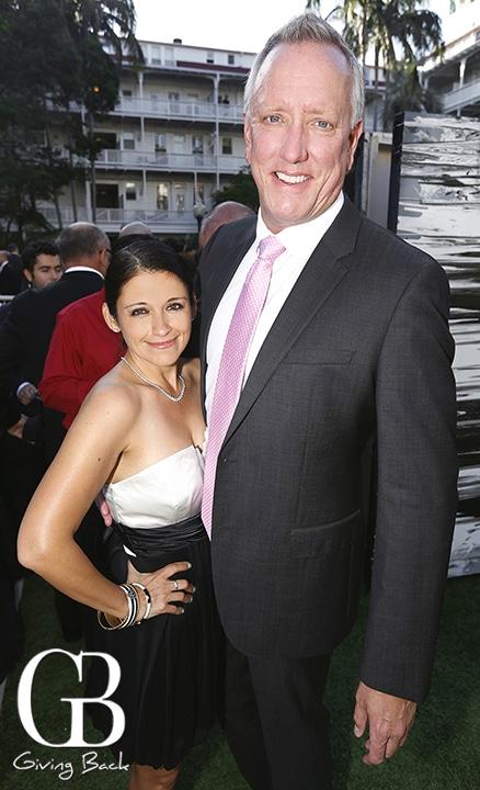 Jennifer Bustamante and Matt Short