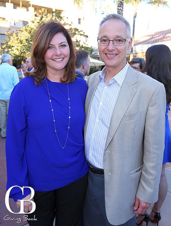 Jennifer Gilmore and Bob Aiken