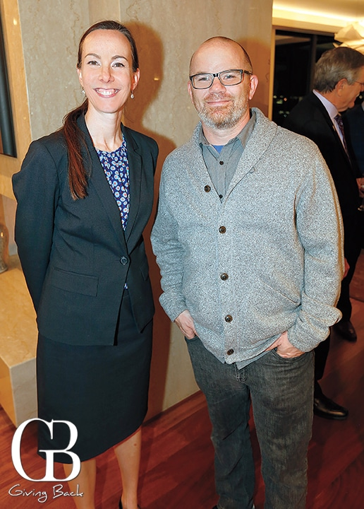 Jennifer Harter and Gabriel Filkey