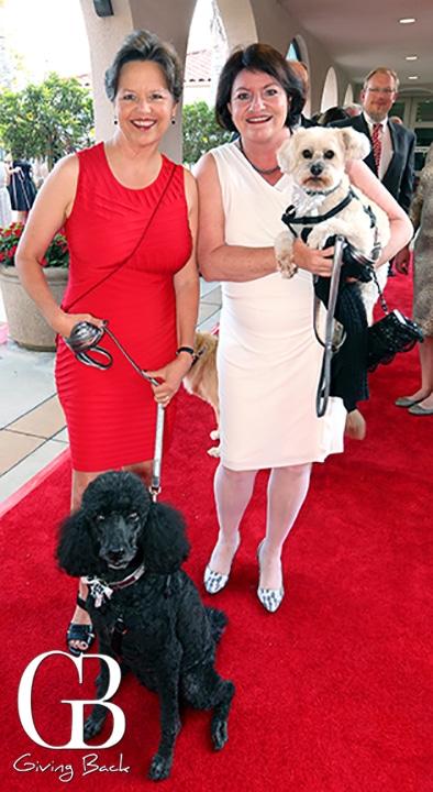 Jennifer LaSar and Assemblywoman Toni Atkins with Hailey and Joey