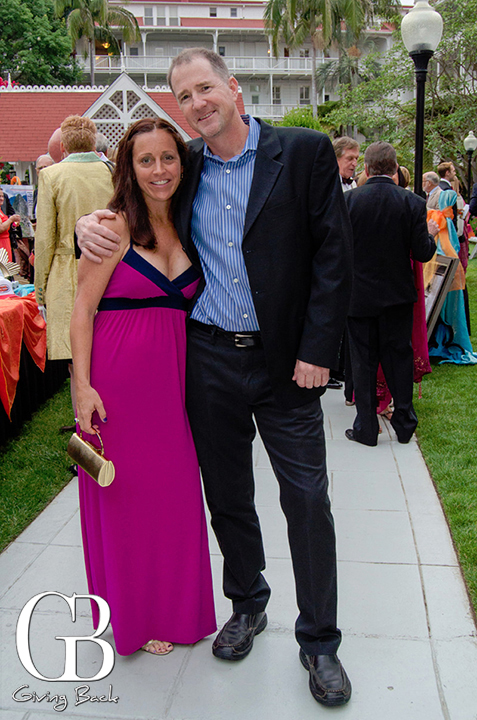 Jennifer Ouellette and Charles Adams