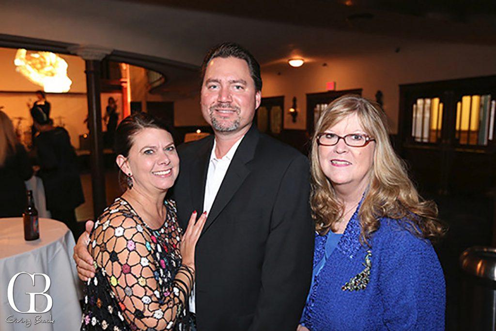 Jennifer and Marty Ohmstee with Kristina Starkey