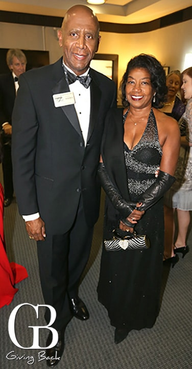 Jeoff Evans and Mary Evans