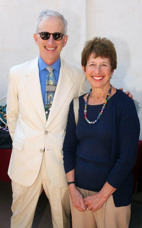 Jerry Goldberg and Susie Meltzer.JPG