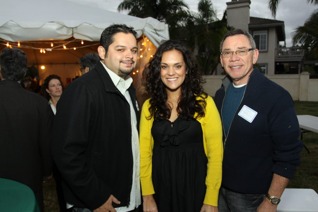 Jerry and Angie Gonzales with John Castello.JPG