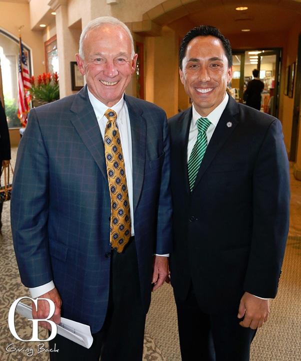 Jerry Sanders and Mayor Todd Gloria