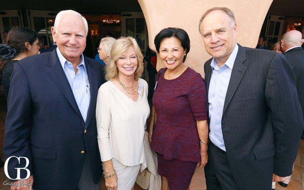 Jerry and Cheri Pedigo with Grace and Greg Jackey
